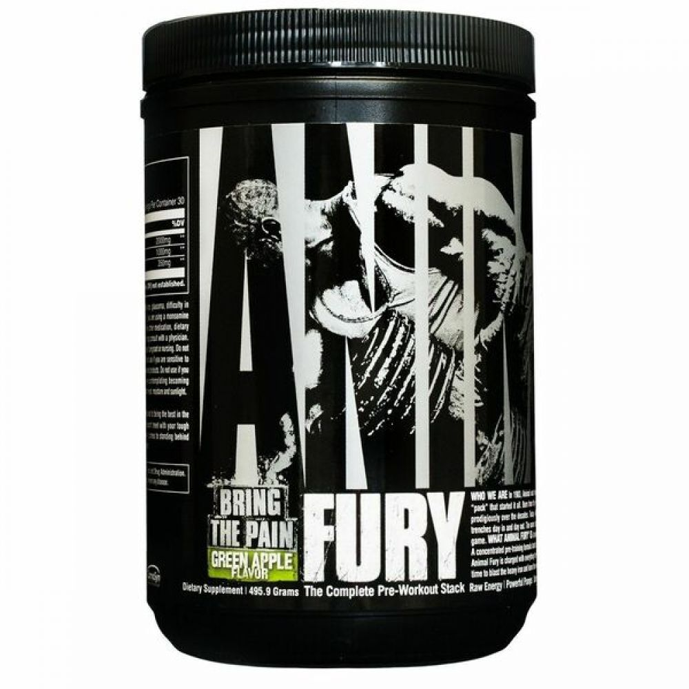 Animal Fury 320g, Universal Nutrition