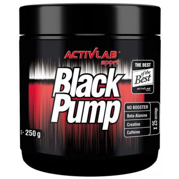 Black Pump 250g, ActivLab