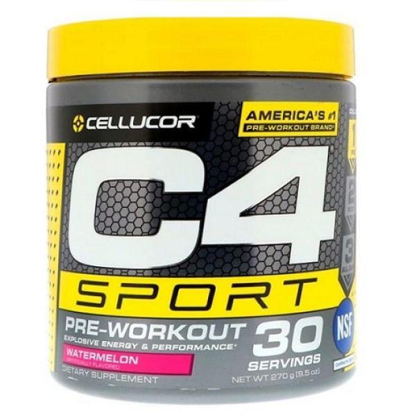 C4 Sport 270g 30 Servings, Cellucor