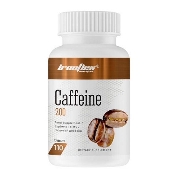 CAFFEINE 200mg 110 Tab, IronFlex