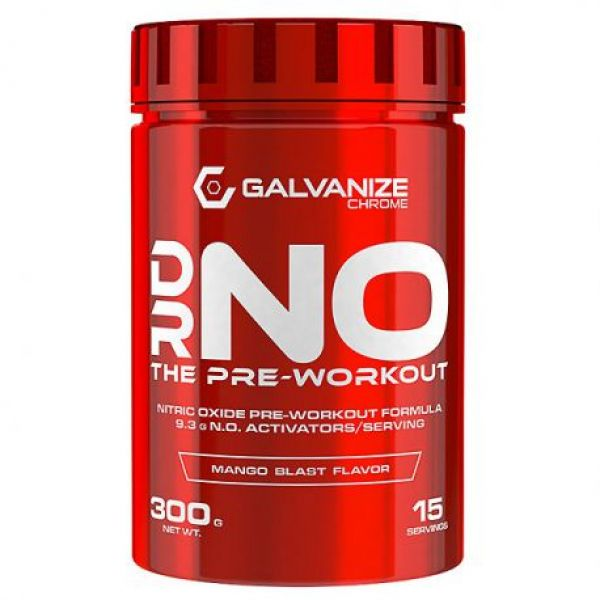 GChrome N.O. Pre-Workout 300g, Galvanize
