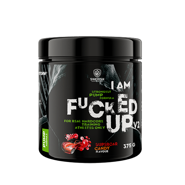 Im Fucked Up Pump V2 375g, Swedish Supplements
