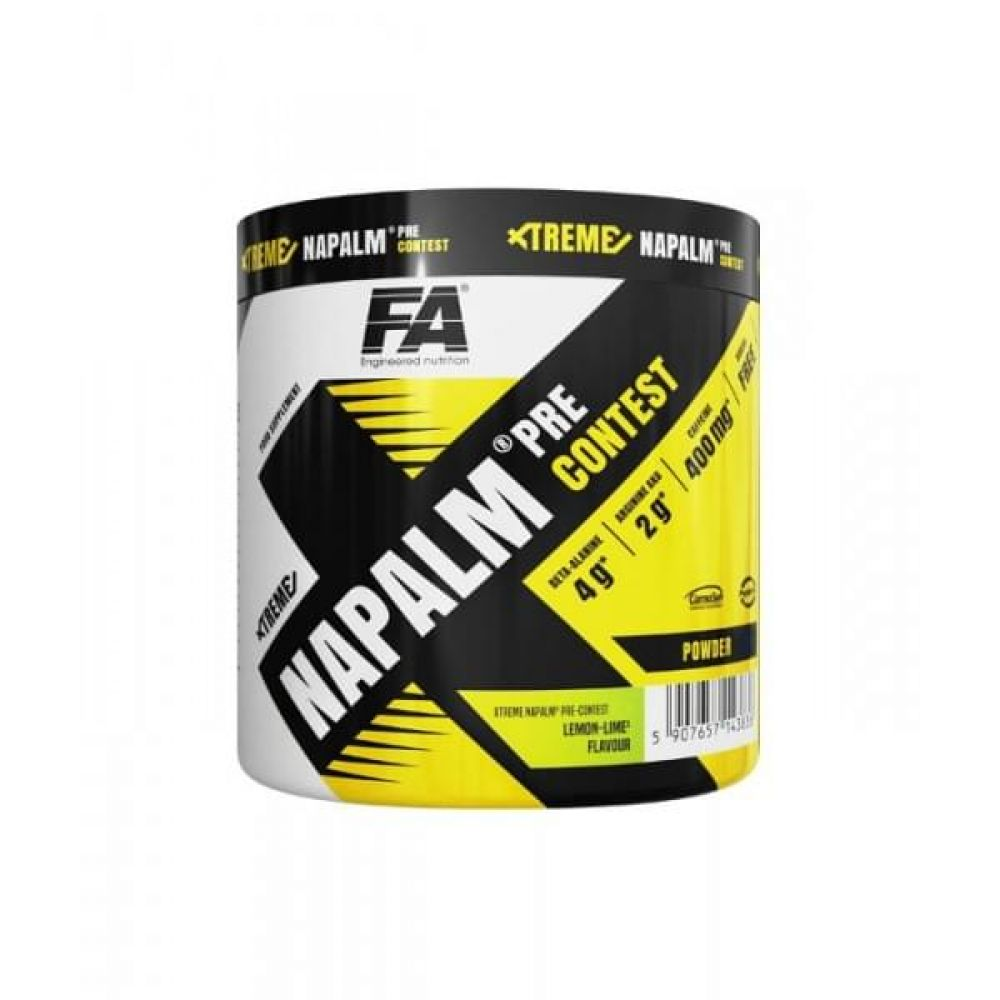Xtreme Napalm Pre Contest 224g, Fitness Authority