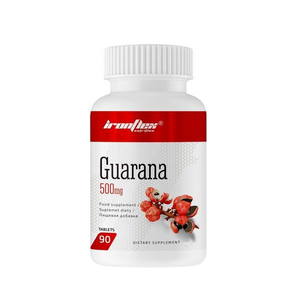 Guarana 500mg 90tab, IronFlex