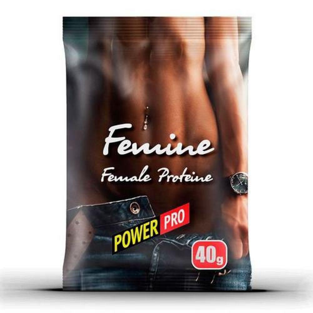 Пробник Whey Protein Femine 40g, PowerPro