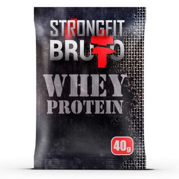 Whey Protein 40g, StrongFit