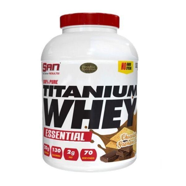 100% Pure Titanium Whey 2268g, SAN
