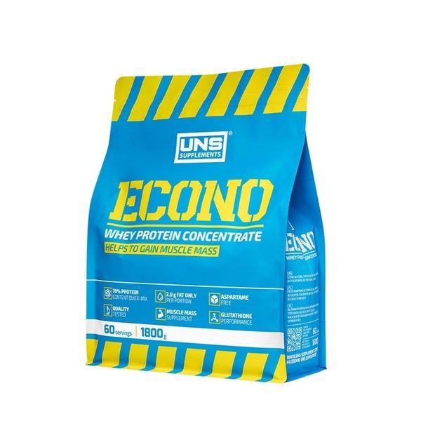 Econo Whey Protein 1800g, UNS