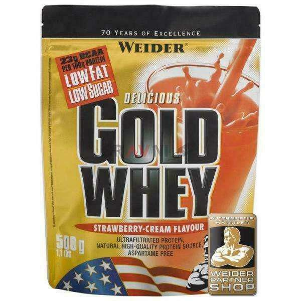 Gold Whey 500g, Weider
