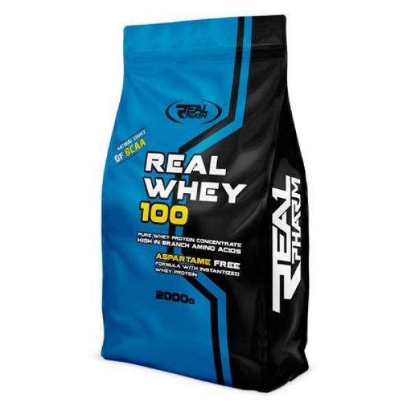 Real Whey 100 2000g. Real Pharm