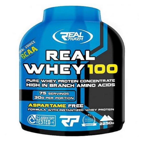 Real Whey 100 2270g. Real Pharm