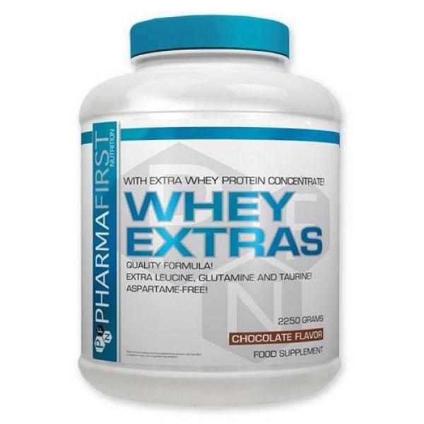 Whey Extra's 2250g, Pharma First