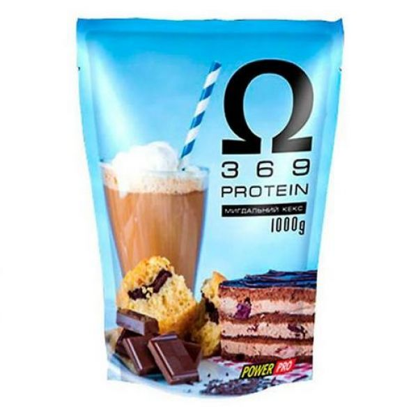 Whey Protein Omega 3-6-9 1kg, PowerPro