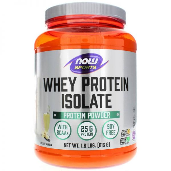 Whey Protein Isolate 816g, NOW Foods