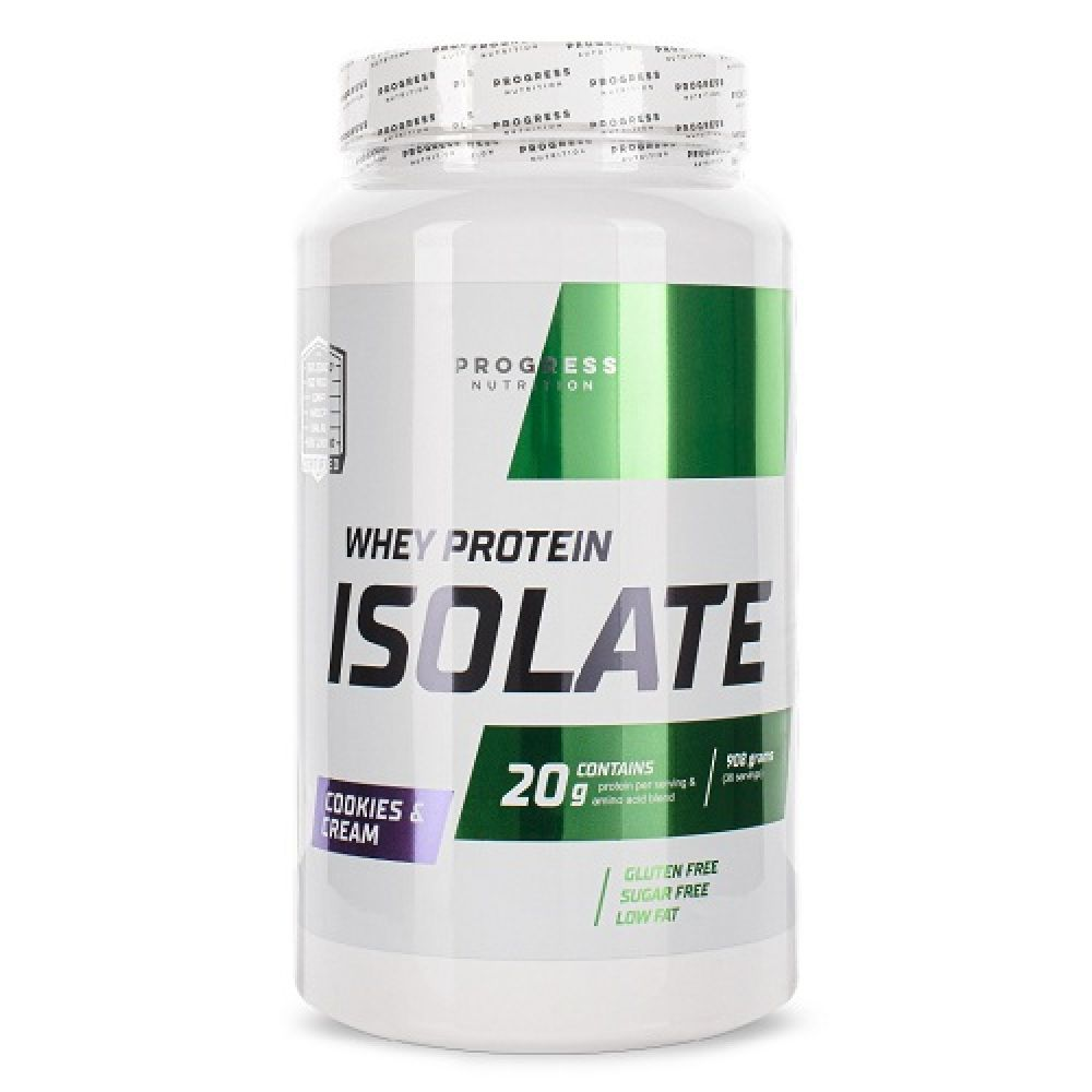 Whey Protein Isolate 908g, Progress Nutrition