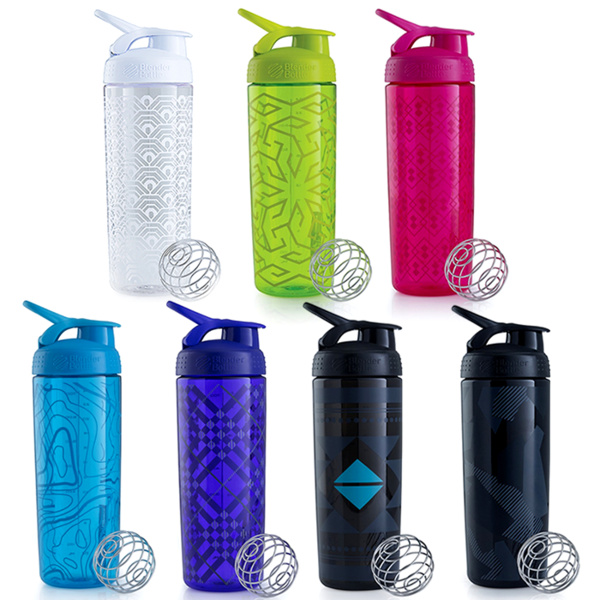 Шейкер Sleek  820ml, BlenderBottle