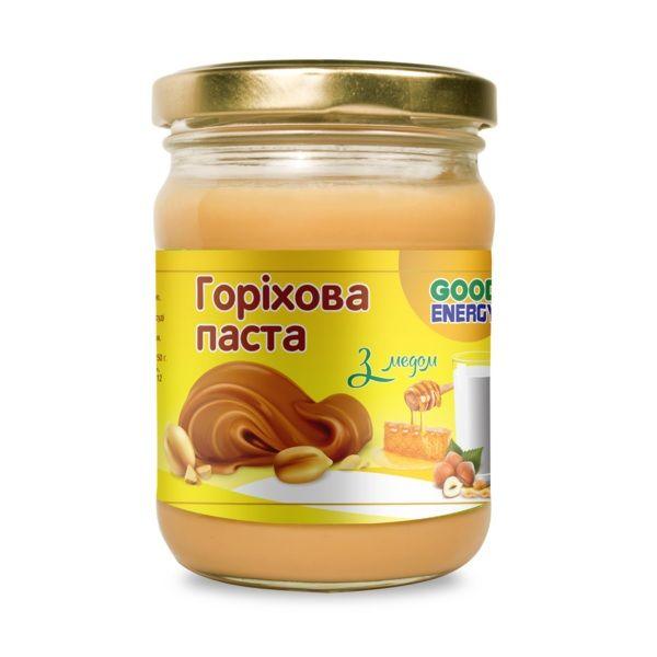 Ореховая паста 180г, Good Energy