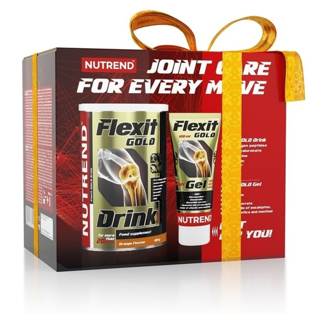 Flexit Gold Drink 400g+Gel 100ml, Nutrend