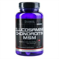 Glucosamine & Chondroitin MSM 90 tab, Ultimate Nutrition