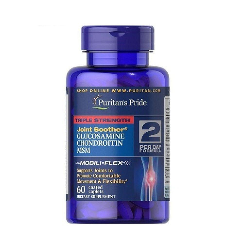 Glucosamine Chondroitin MSM Triple 60tab, Puritans Pride