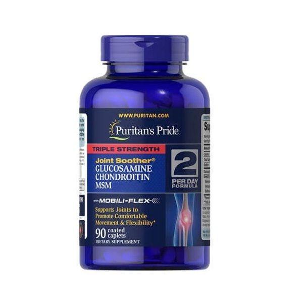 Glucosamine Chondroitin MSM Triple 90tab, Puritans Pride