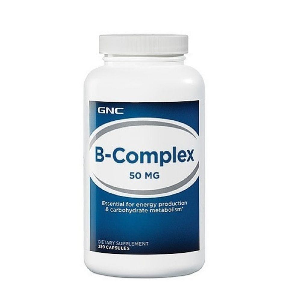 B-COMPLEX 50 250caps, GNC