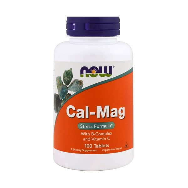 Cal-Mag 100 Tabs, NOW Foods