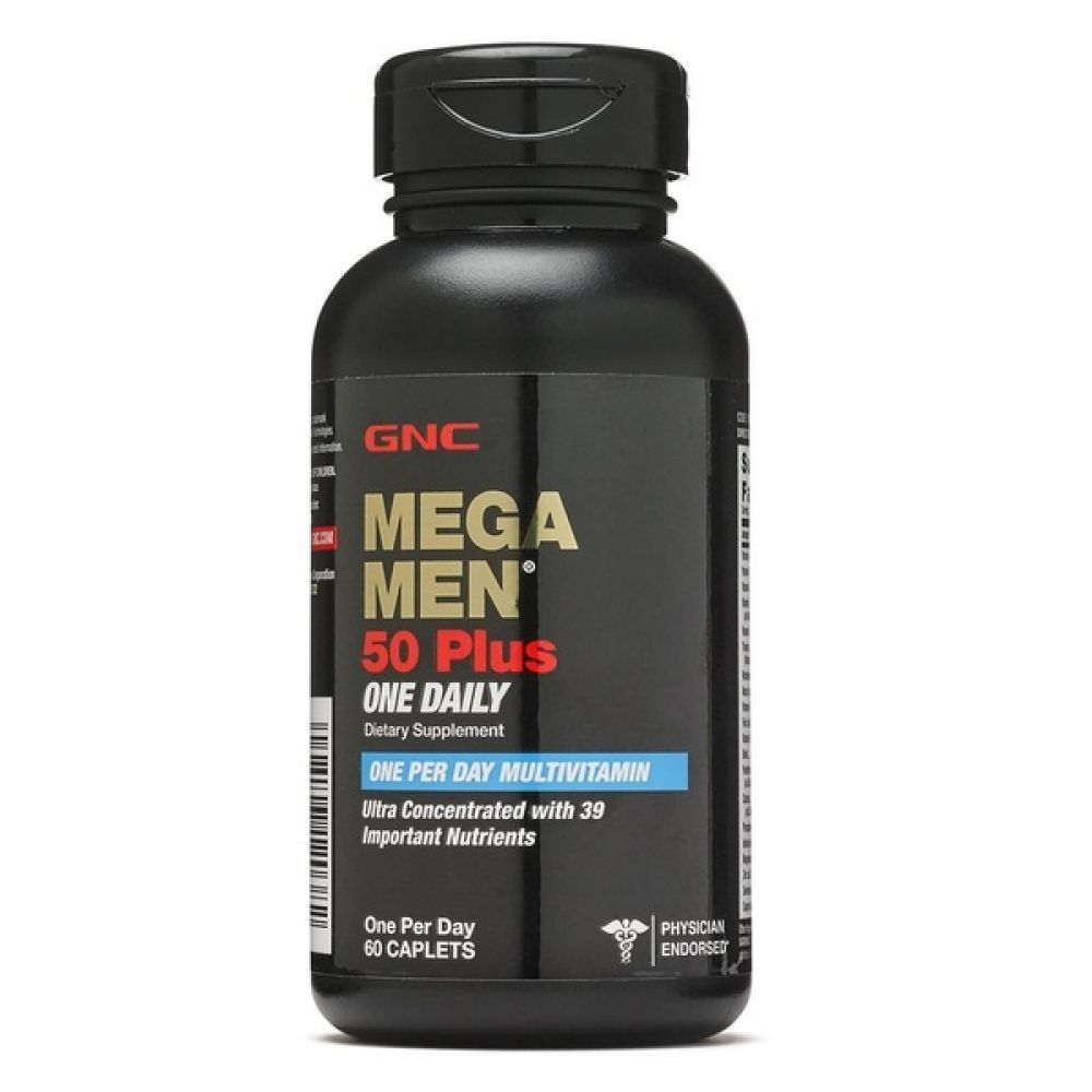 MEGA MEN 50+ ONE Daily 60tab, GNC