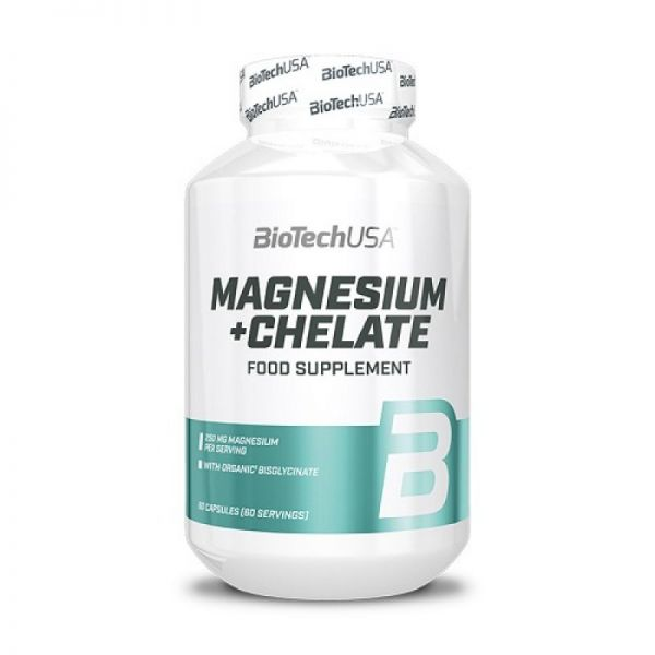 Magnesium + Chelate 60 Caps, BioTechUSA