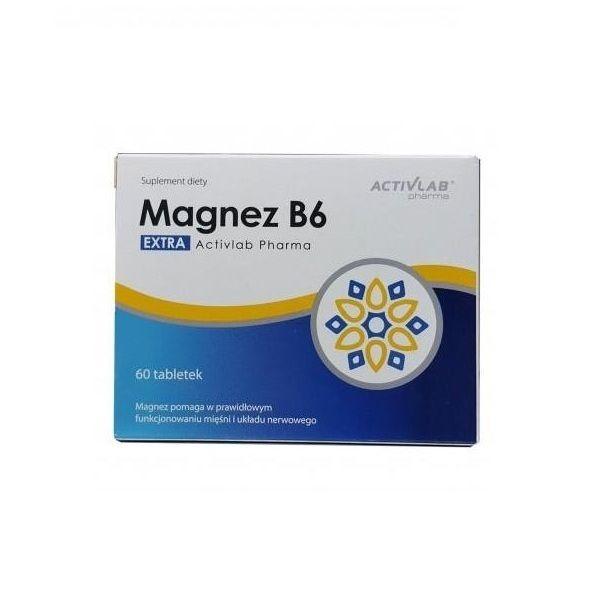 Magnez B6 60tab, ActivLab