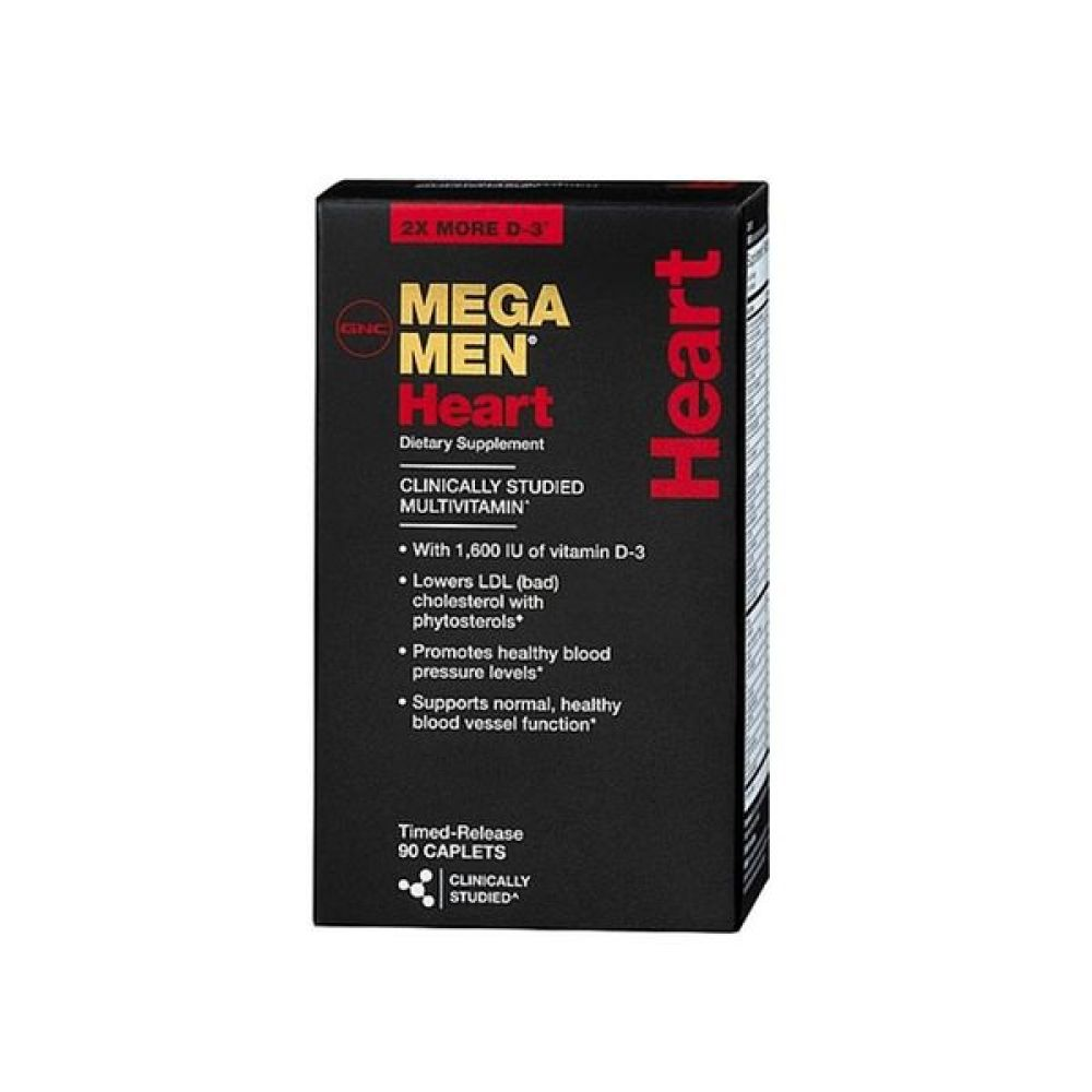 Mega Men HEART 90caps, GNC