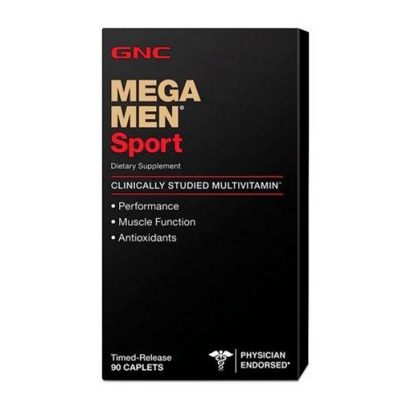 Mega Men Sport 90caps, GNC