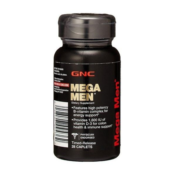 Mega Men 28caps, GNC