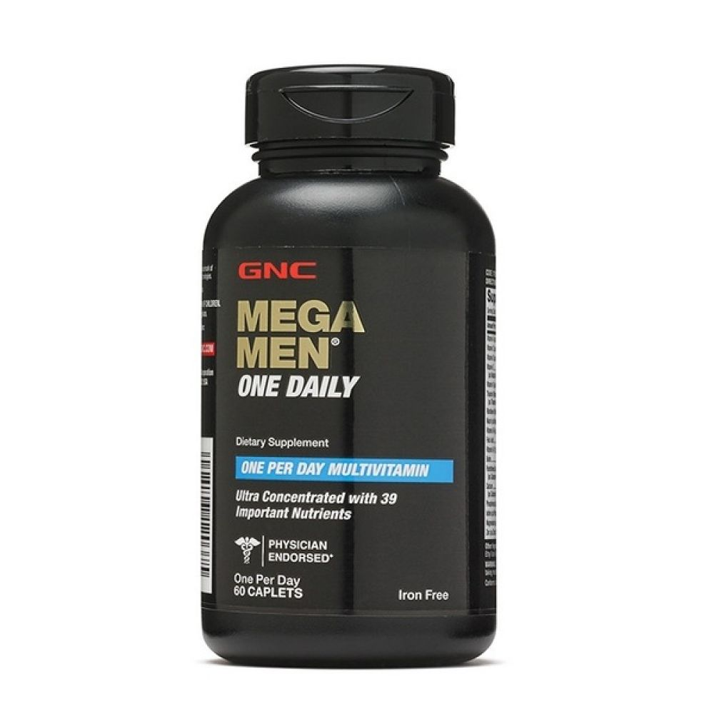 Mega Men One Daily 60caps, GNC