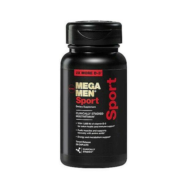 Mega Men Sport 28caps, GNC