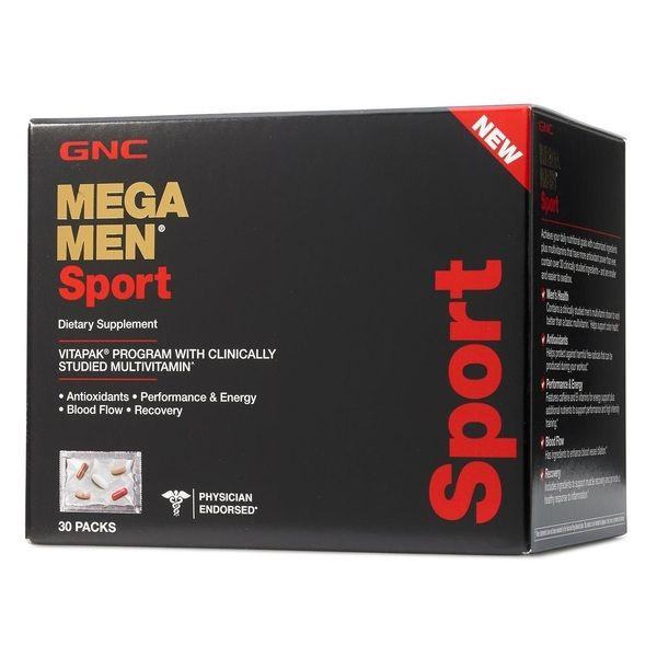 Mega Men Sport Vitapak 30 megapak, GNC