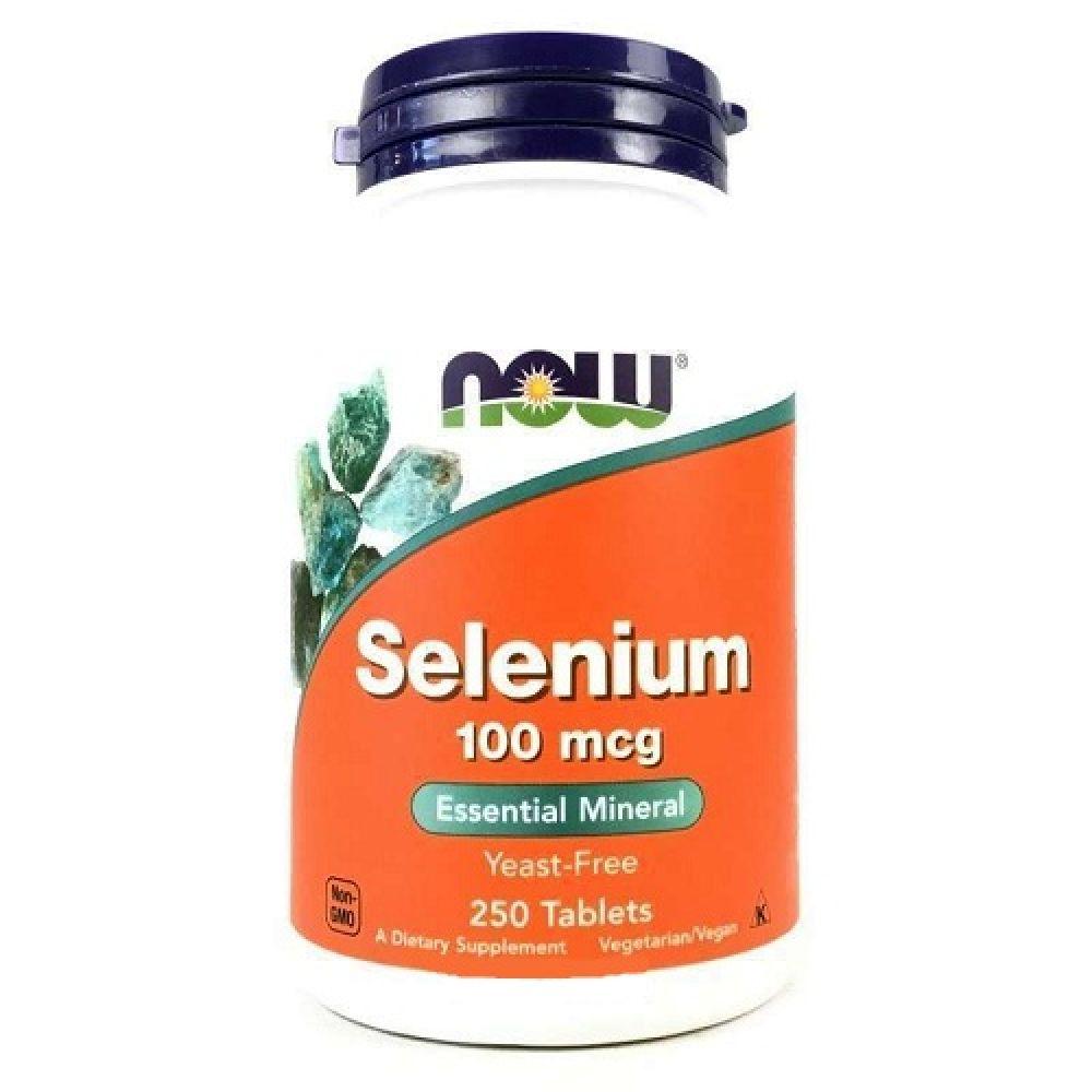 Selenium 100mcg 250 Tab, NOW Foods