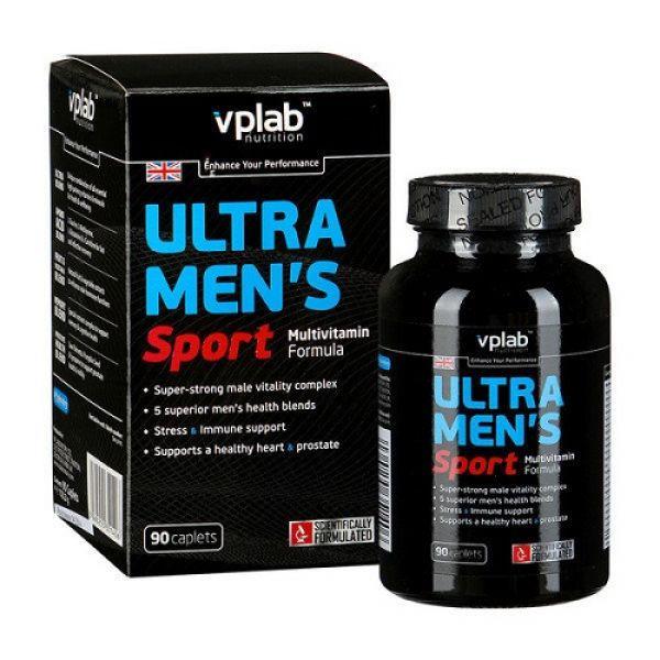 Ultra Mens Sport Multivitamin 90 caps, VP Lab