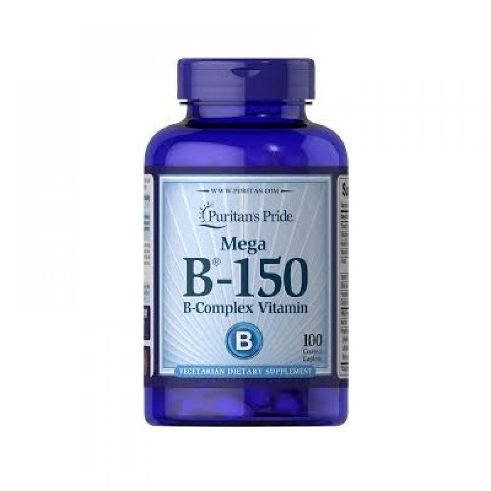 Vitamin B-150 Complex 100 Tabs, Puritans Pride