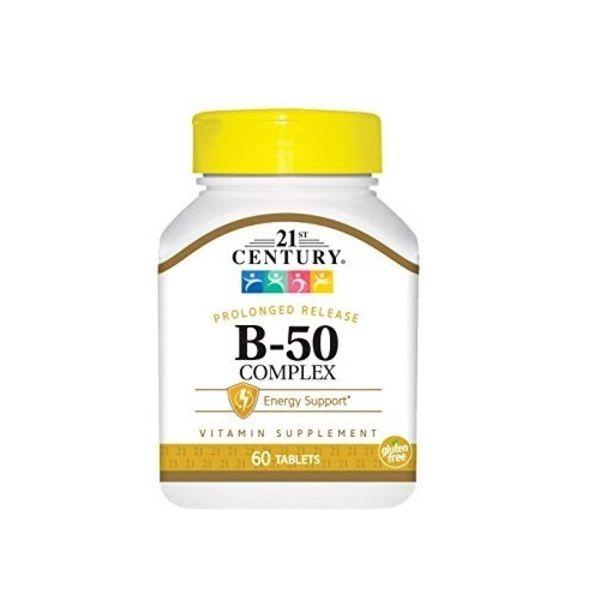 Vitamin B-50 Complex 60tab, 21st Century