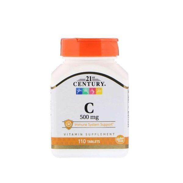 Vitamin C 500mg 110tab, 21st Century