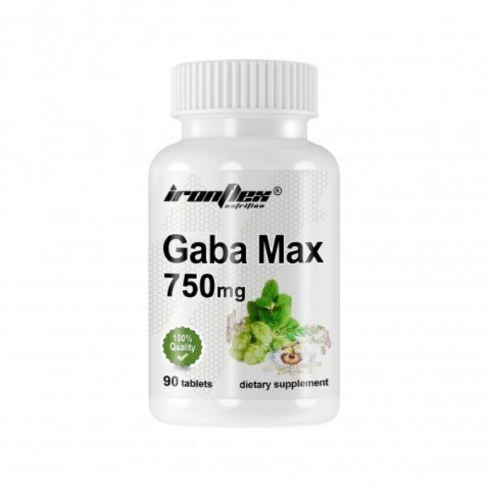 GABA Max 90 Tabs, IronFlex