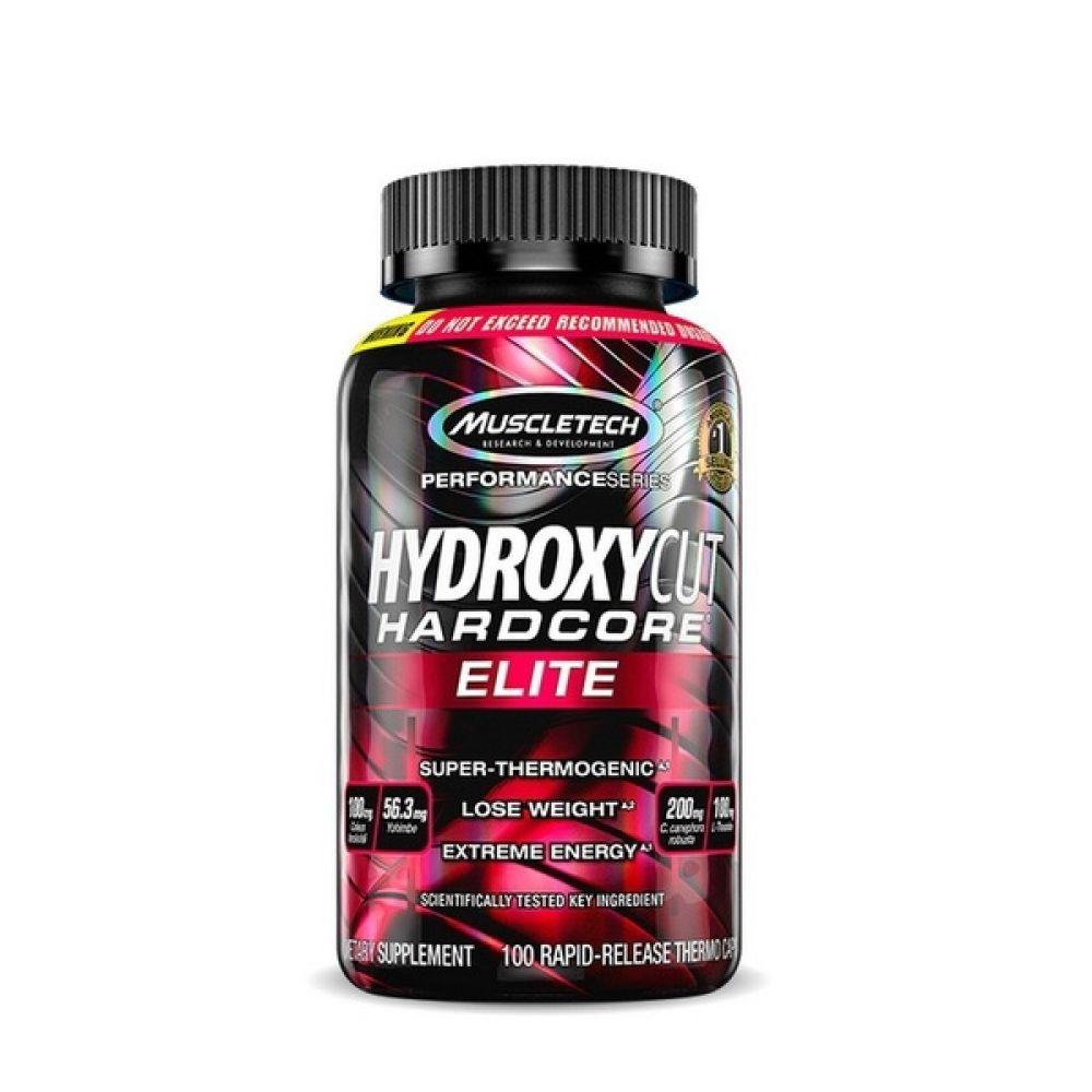Hydroxycut Hardcore Elite 100 Caps, MuscleTech