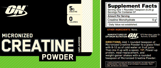 Creatine Powder 300g Optimum Nutrition